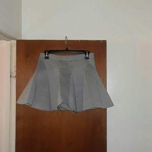 Neoprene Flare Skirt
